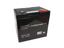 Batteri 70Ah/12V/229x138x213 <br />Drift - AGM - Deep Cycle