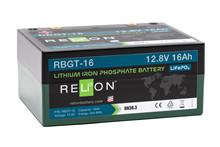 Batteri 16Ah/12,8V/168x128x76 <br />Drift - Li-Ion
