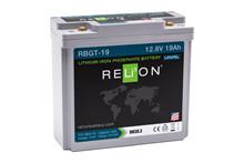 Batteri 19Ah/12,8V/181x77x167 <br />Drift - Li-Ion
