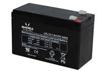 Batteri 7Ah/12V/151x65x94 <br />Stationær - AGM - Longlife