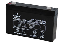 Batteri 7Ah/6V/151x34x94 <br />Drift - AGM - General Purpose