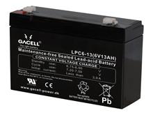 Batteri 13Ah/6V/151x51x94 <br />Drift - AGM - Deep Cycle