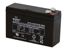 Batteri 6,5Ah/12V/151x51x94 <br />Drift - AGM - General Purpose