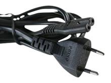 Kabel AC, 2 pins m/EU connector <br />Tilbehør