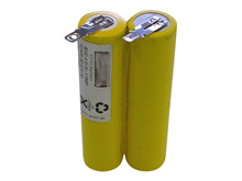 Batteri 2Ah/4,8V <br />Elværktøj - Ni-Cd - Kompatibel