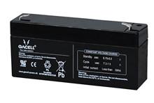 Batteri 3,2Ah/6V/134x34x60 <br />Drift - AGM - General Purpose
