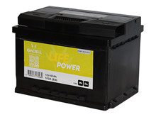 Batteri 62Ah/12V/242x175x190 <br />Start - Auto - STD