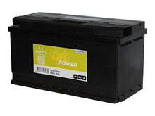 Batteri 100Ah/12V/353x175x190 <br />Start - Auto - STD