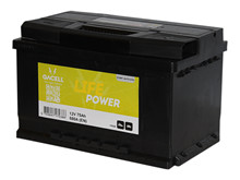Batteri 75Ah/12V/278x175x190 <br />Start - Auto - STD