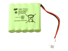 Batteri 0,850Ah/6V - Pack <br />Elektronik - Ni-Mh