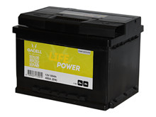 Batteri 55Ah/12V/242x175x175 <br />Start - Auto - STD