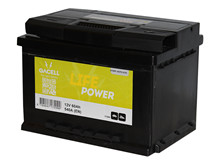 Batteri 60Ah/12V/242x175x190 <br />Start - Auto - STD