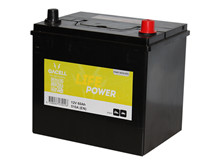 Batteri 60Ah/12V/230x170x220 <br />Start - Auto - STD