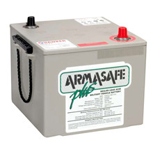 Batteri 120Ah/12V/286x269x230 <br />Start - Auto - AGM