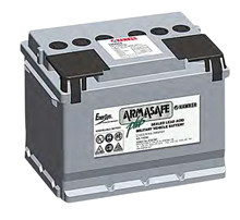 Batteri 55Ah/12V/242x175x190 <br />Start - Auto - AGM