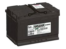 Batteri 70Ah/12V/278x175x190 <br />Start - Auto - AGM