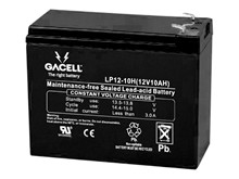 Batteri 10Ah/12V/151x65x111 <br />Drift - AGM - General Purpose