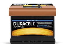 Batteri 62Ah/12V/242x175x190 <br />Start - Auto - SMF