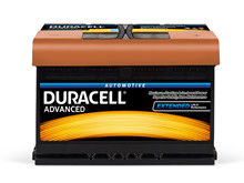 Batteri 74Ah/12V/278x175x190 <br />Start - Auto - SMF