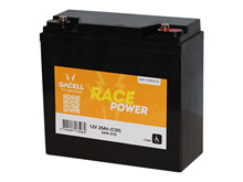Battery 25Ah/12V/181x77x167 <br />Traction - HYBRID - Deep Cycle