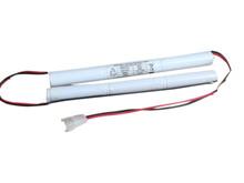 Batteri 4Ah/7,2V/203x17x <br />Stationær - Ni-Mh - Kompatibel