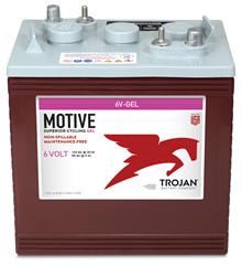 Batteri 189Ah/6V/260x181x276 <br />Drift - GEL - Deep Cycle