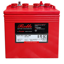 Batteri 155Ah/8V/260x181x276 <br />Drift - Flooded - Deep Cycle