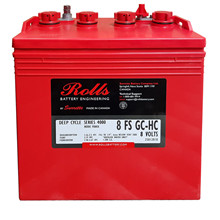 Batteri 182Ah/8V/260x181x276 <br />Drift - Flooded - Deep Cycle
