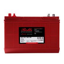 Batteri 130Ah/12V/326x171x247 <br />Drift - Flooded - Deep Cycle