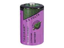 Batteri 1,2Ah/3,6V - ½AA <br />Elektronik - Lithium