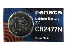 Knapcelle 0,95Ah/3V - CR2477N <br />Elektronik - Knapceller