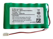 Batteri 1,2Ah/7,2V - Pack <br />Elektronik - Ni-Mh