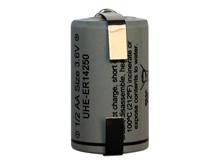 Batteri 1,2Ah/3,6V - ½AA m/loddeflig <br />Elektronik - Lithium