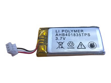 Batteripakke 0,205Ah/3,7V - Komplet  <br />Elektronik - Lithium