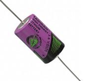 Batteri 1,2Ah/3,6V - m/axial loddeflige metal <br />Elektronik - Lithium