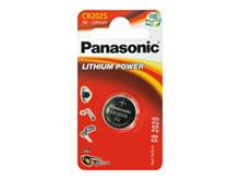 Batteri 0,165Ah/3V - CR2025 <br />Elektronik - Knapceller