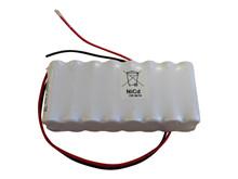 Batteripakke 0,8Ah/1,2V - m/ledning  <br />Elektronik - Ni-Cd
