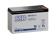 Batteri 9Ah/12V/151x65x94 <br />Stationær - AGM - Longlife