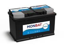 Batteri 80Ah/12V/315x175x190 <br />Start - Auto - AGM