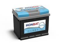 Batteri 60Ah/12V/242x175x190 <br />Start - Auto - EFB