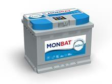 Batteri 60Ah/12V/242x175x190 <br />Drift - AGM - Deep Cycle
