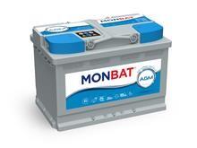 Batteri 70Ah/12V/278x175x190 <br />Drift - AGM - Deep Cycle