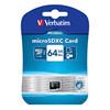 Micro SD card Verbatim 64GB XC 44014 PRO Class 10