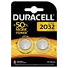Batteri litium DuracellElectronics2032 knapcelle  3V 2-pak