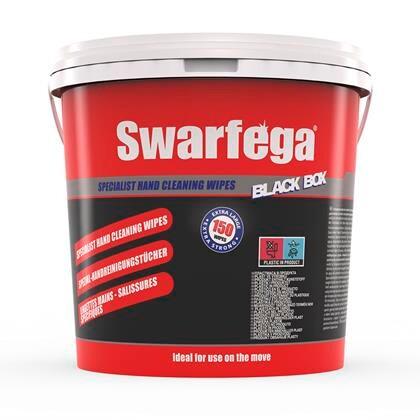 Håndrenseservietter Black Box t/tryksværte, maling 150ark 1675