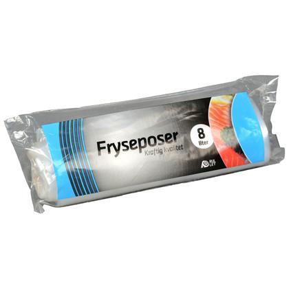 Fryseposer Rul-let 8l 25x50cm m/skrivefelt 15ps/rl