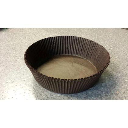 Bageform pergament brun Ø145mm 50mm 1000stk/pak