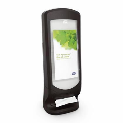 Dispenser Tork Xpressnap sort N4 vægmodel 1stk