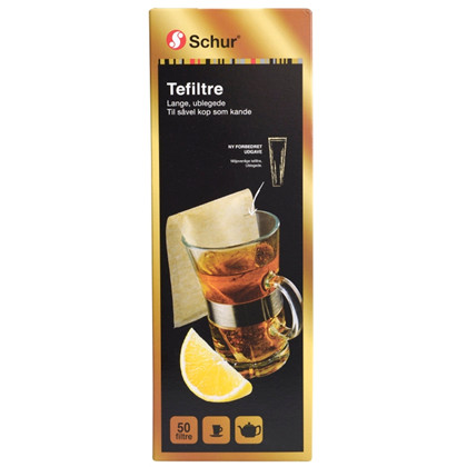 Tea filters long 50 per pack
