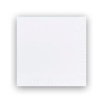 Servietter 3-lags Duni hvid 33cm 1000stk/kar